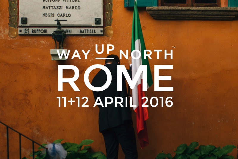 Proud to sponsor WUN in Rome
